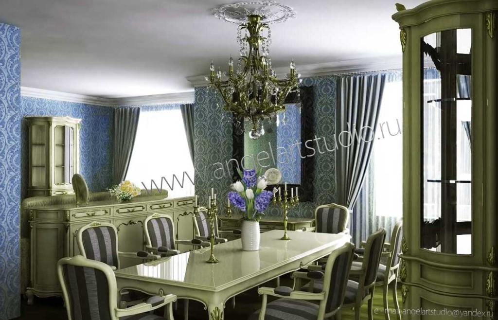 Дизайн проект квартиры в Сочи-6