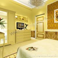 Дизайн проект спальни.