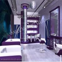 Дизайн-проект салона красоты в Сочи по улице Юных ленинцев