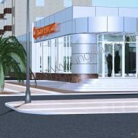 Проект супермаркета ЗОЛОТАЯ НИВА с офисами, удобный и современный