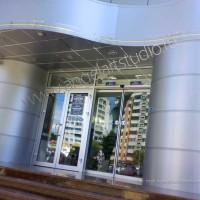 Проект супермаркет «ЗОЛОТАЯ НИВА» капитальный ремонт фасада здания