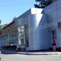 Проект реконструкции супермаркета ЗОЛОТАЯ НИВА