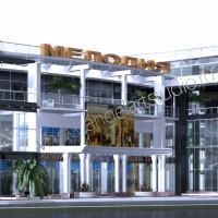 Торговый центр Мелодия в Сочи, проект реконструкции