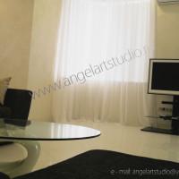 Фото квартиры после ремонта по авторскому дизайн проекту Ангел АРТСтудио в Сочи