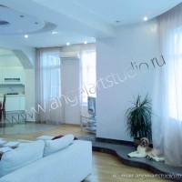 ремонт квартир фото от Ангел АРТСтудио в Сочи Дизайн проект с авторским надзором.