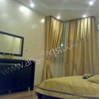 Ремонт квартир фото - спальня от Ангел АРТСтудио в Сочи Дизайн проект с авторским надзором.